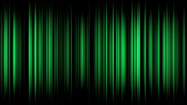 Tall Green Streaks HD Background video