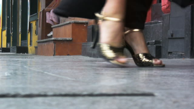 street tango - scarpe video stock e b–roll