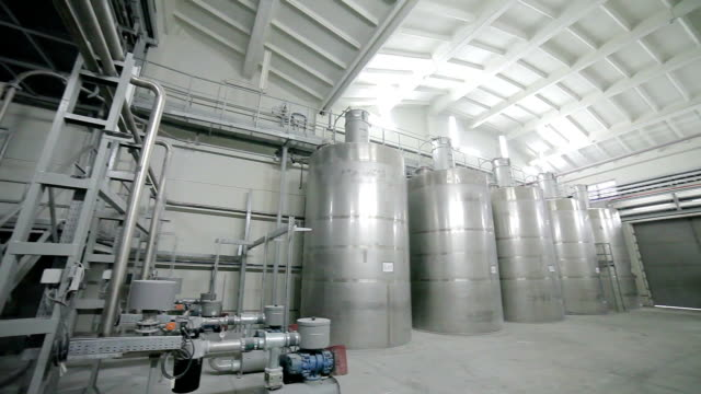 Tank equipment. chemical industry video
