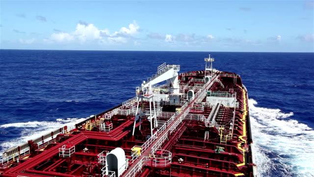 Tanker sailing video