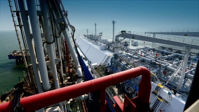 LNG-tankfartyg Terminal video