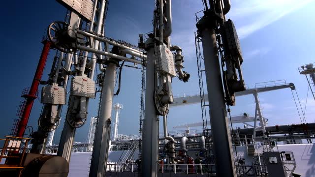LNG Tanker Terminal video