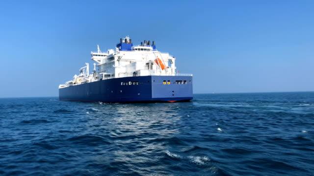lng-fartyg i havet - tankfartyg bildbanksvideor och videomaterial från bakom kulisserna