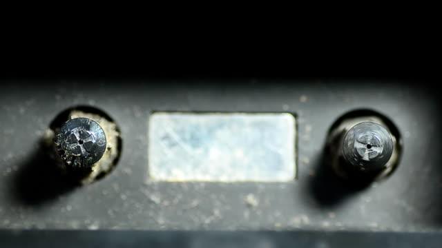 Tape recorder machine video