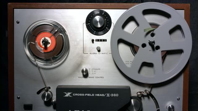 registratore - mangianastri video stock e b–roll