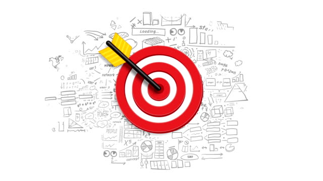 Target and infographics