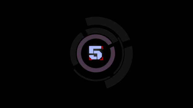 Target countdown video
