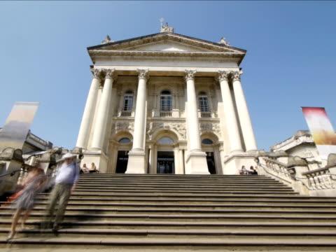 Tate Britain - Main Entrance video