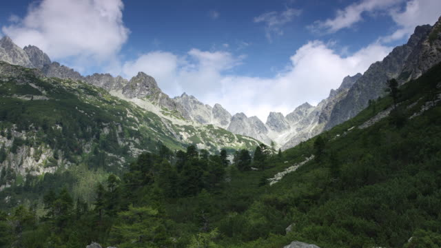 (Timelapse) Tatra mountains video