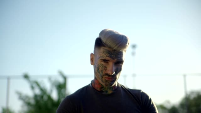 Undercut Haircut Men Stock Videos And Royalty Free Footage Istock