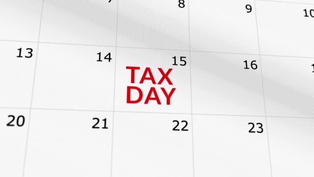 przypomnienie o dniu podatkowym - zwrot filmów i materiałów b-roll