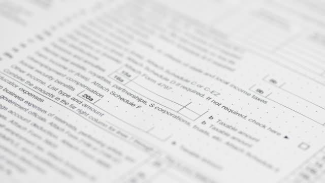 IRS Tax form 1040 - 4K