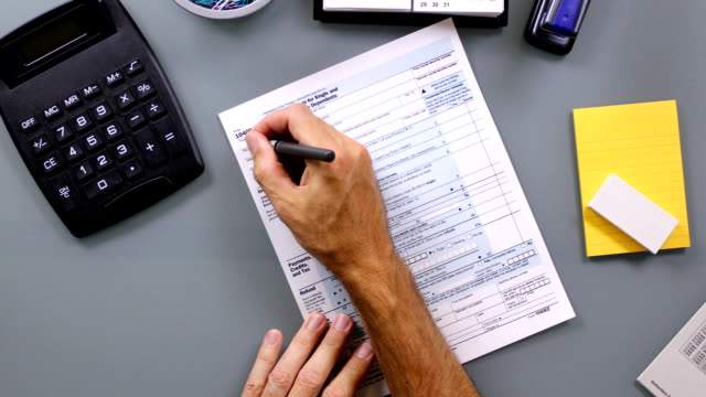 Tax Form Time-Lapse video