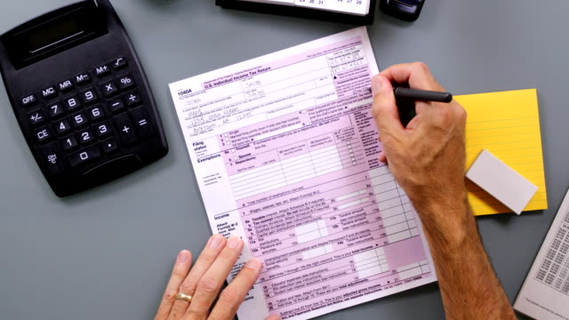 Tax Form Time-Lapse