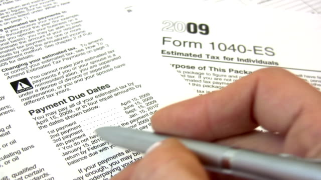 Tax Form video
