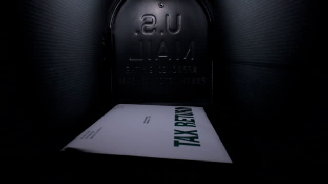 Tax return in the mailbox video