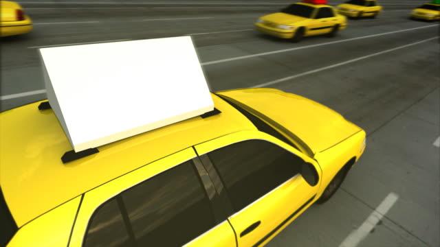 Taxi Advertising Message Board (Loop) video
