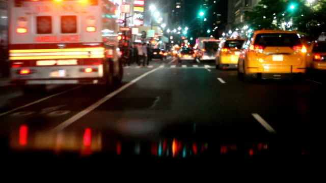 Taxis Ride New York video