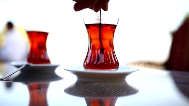 tea background video