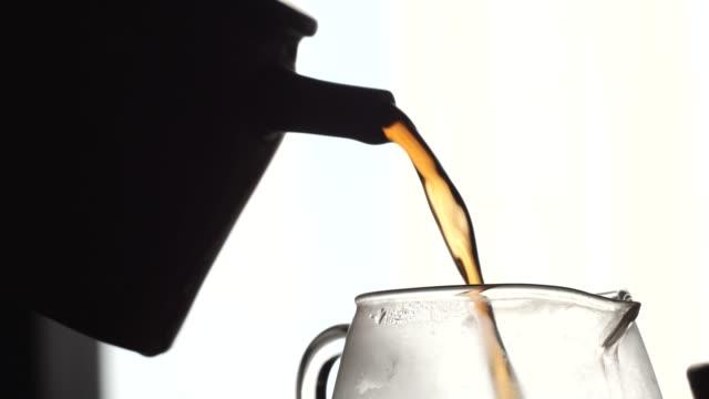 Cerimônia de Chá com Yixing Teapot. Poderoso Jato de Chá - vídeo