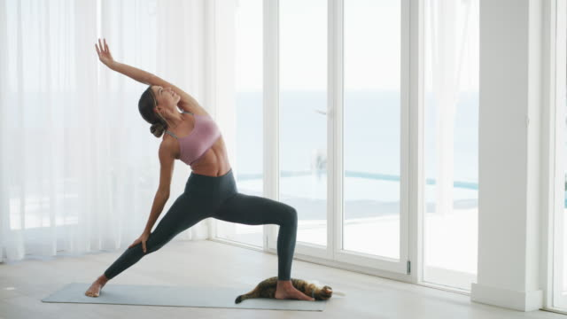 Teach your body to relax with yoga