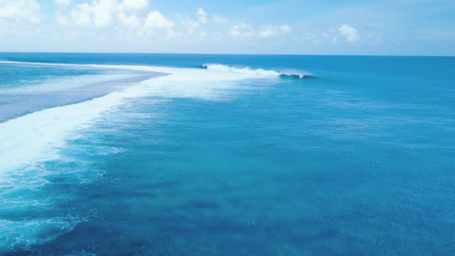 Teahupoo2, wave of french polynesia and surfing video