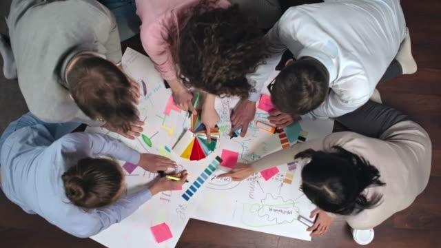 Team Creating Ideas video