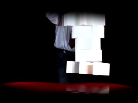team in buchstaben - formelle geschäftskleidung stock-videos und b-roll-filmmaterial
