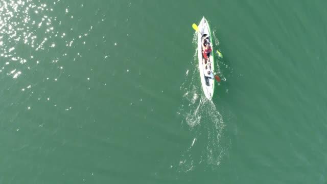 Travail d'équipe kayak - Vidéo