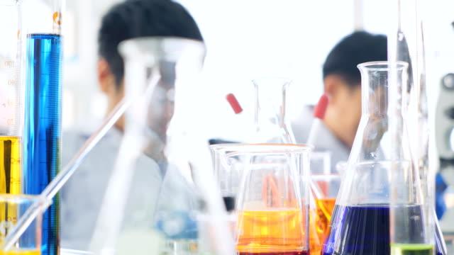 Team Work on Modern Laboratory