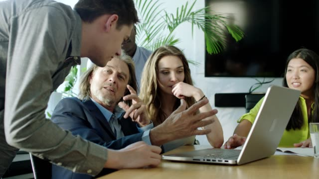 teamwork. startup company - comparsa video stock e b–roll