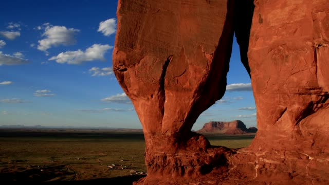 Teardrop Arch, Monument Valley HD video