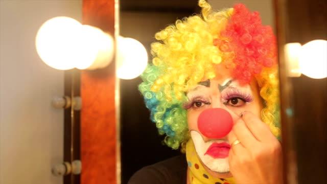 gözyaşları. - circus stok videoları ve detay görüntü çekimi