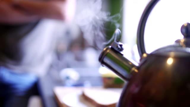 tea's nearly ready - teapot stock videos & royalty-free footage