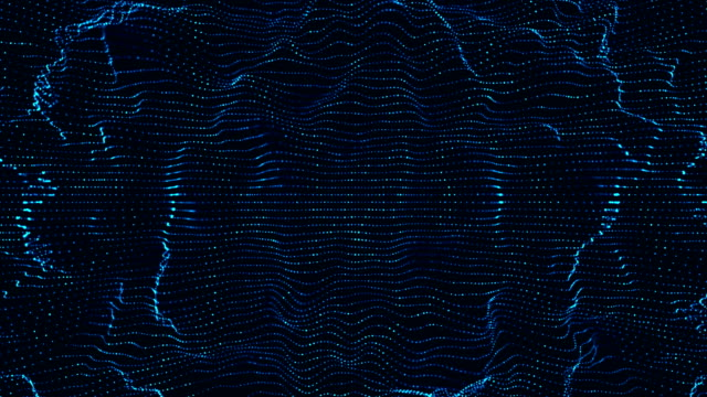 techn0logy welle - sound wave stock-videos und b-roll-filmmaterial