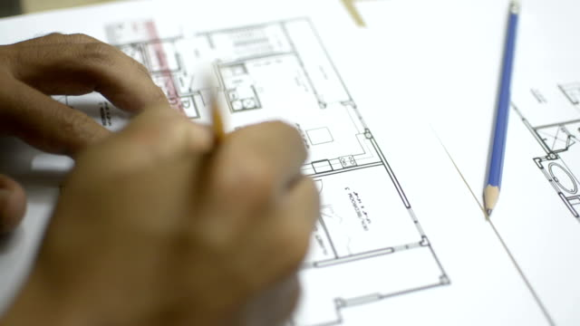 Technical Drawing measuring sketching video