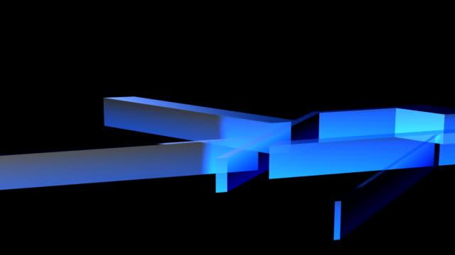 techno shapes video
