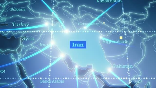 技術地球連接伊朗 - 4k - 伊朗 個影片檔及 b 捲影像