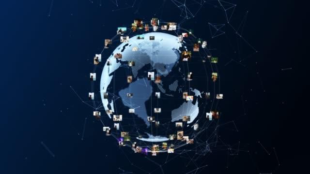 vídeos y material grabado en eventos de stock de 4k mundo social tecnológico - temas sociales