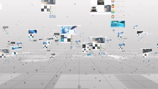 Technology Background Digital Environment 4K