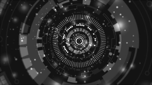 vídeos de stock e filmes b-roll de 4k technology background (loopable) - padrão repetido
