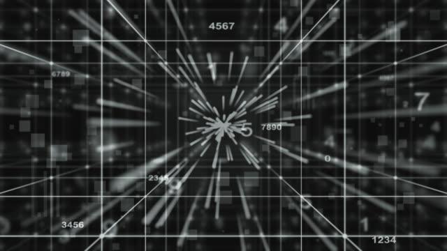 Technology concept,digital background video
