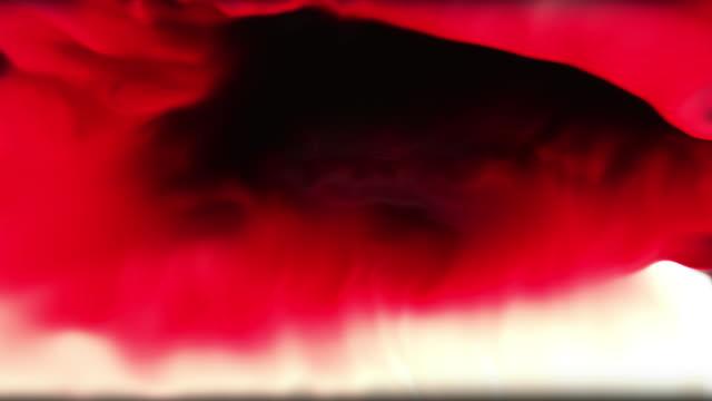 vídeos de stock, filmes e b-roll de tecnologia digital de fundo de movimento bliss - colorful background