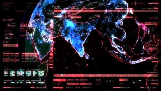 Technology Interface Computer Data Screen GUI VI video
