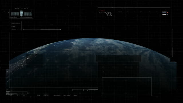 Technology Interface with Earth video