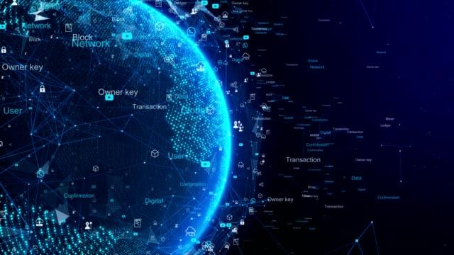 technology network och digital jorden 4k - jorden nyheter bildbanksvideor och videomaterial från bakom kulisserna