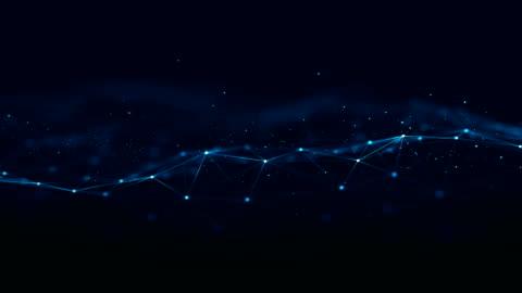 teknolojik ağ altyapı. - background stok videoları ve detay görüntü çekimi