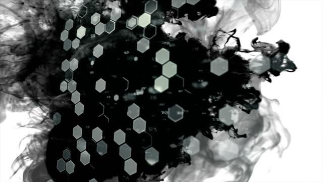Technology Network Background