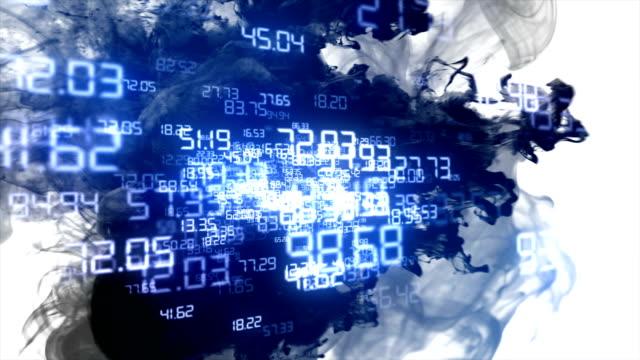 テクノロジーネットワークの背景 - ローポリモデリング点の映像素材/bロール