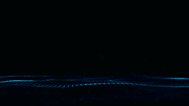 technologie wave - sound wave stock-videos und b-roll-filmmaterial